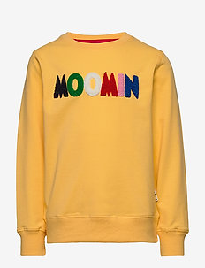 LOGO SWEATSHIRT - bluzy - yellow