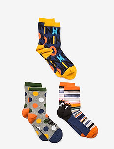 JOY SOCKS 3PACK - socks - blue