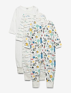 MOOMIN PYJAMAS 3-PACK - WHITE