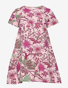 JUNGLE FLOWER DRESS - PINK