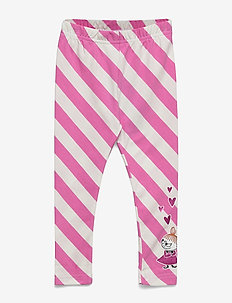 LITTLE MY LEGGINGS - leginsy - pink