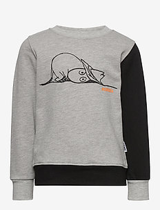 OUR SEA SWEATSHIRT - bluzy - gray