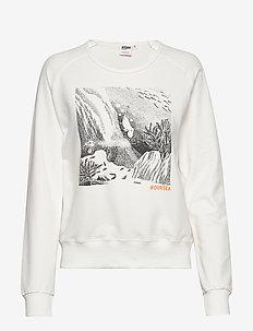 SWEATSHIRT OUR SEA - sweatshirts - cream