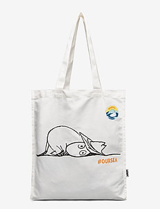 OUR SEA ECOBAG - casual shoppers - white