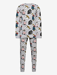 YIKES PYJAMAS - sets - grey