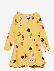 TULIPS DRESS - kleider - yellow