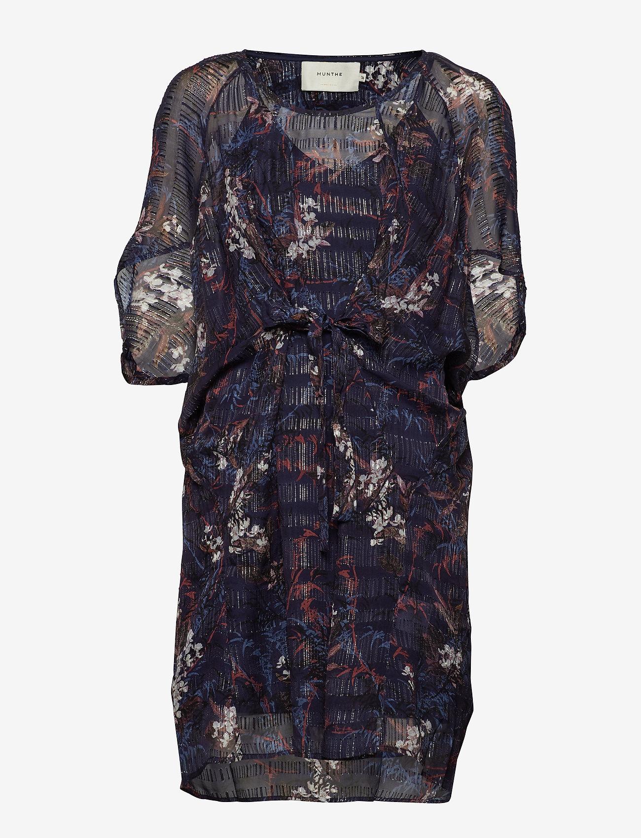 Munthe - TRIXIE - korte kjoler - indigo