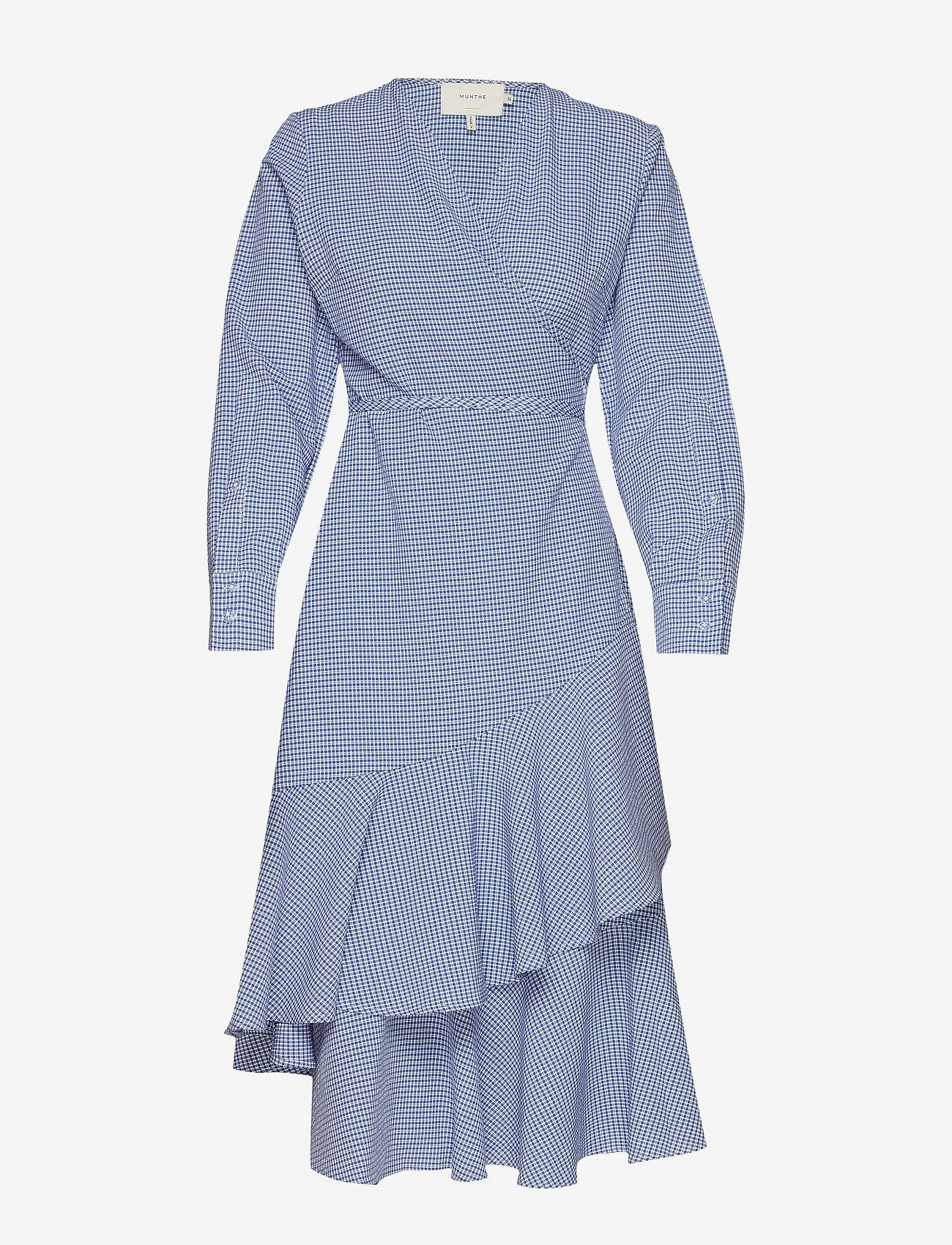 Munthe - Harper - robes portefeuille - blue - 0