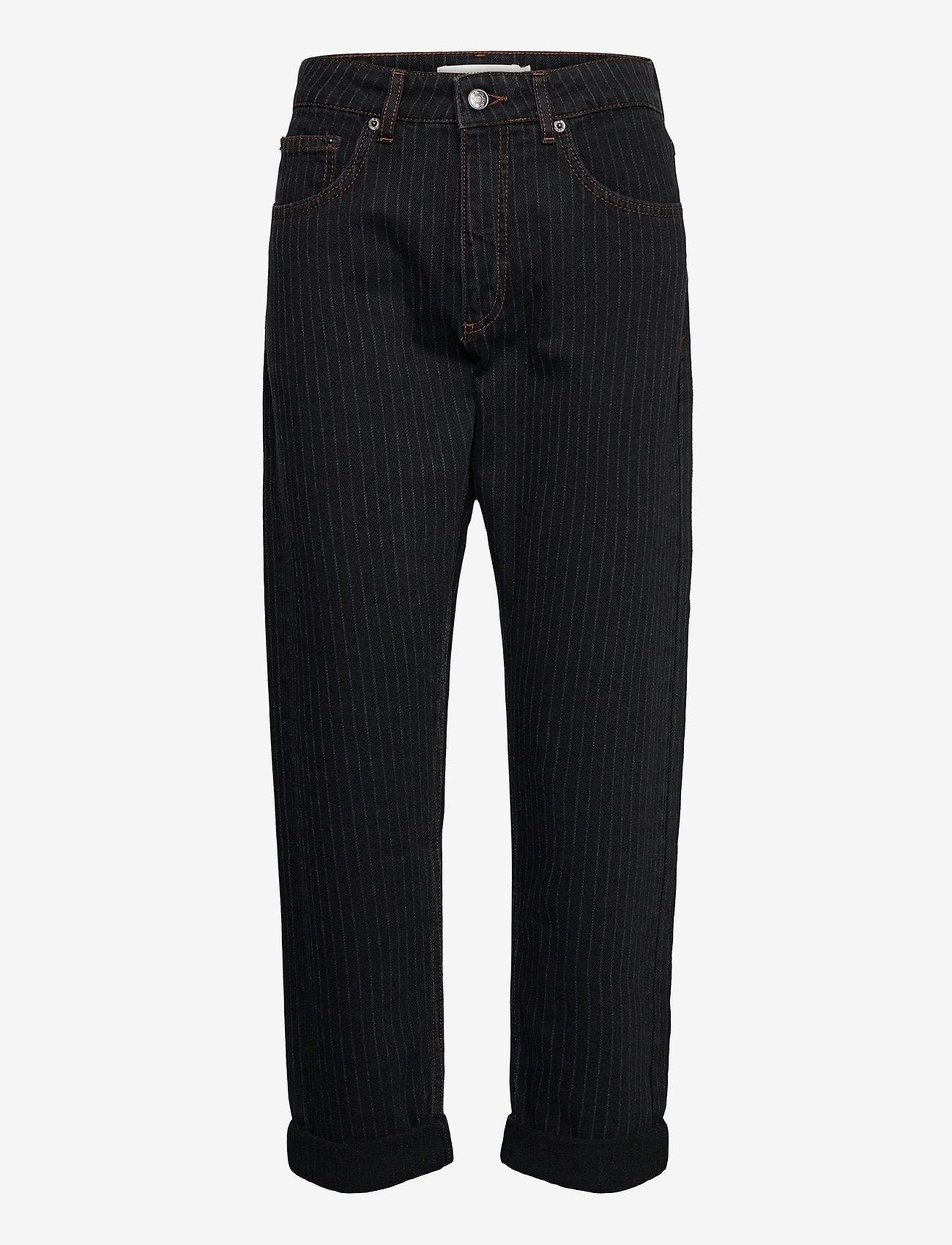 Munthe - SOLANDRA - pantalons larges - charcoal - 1