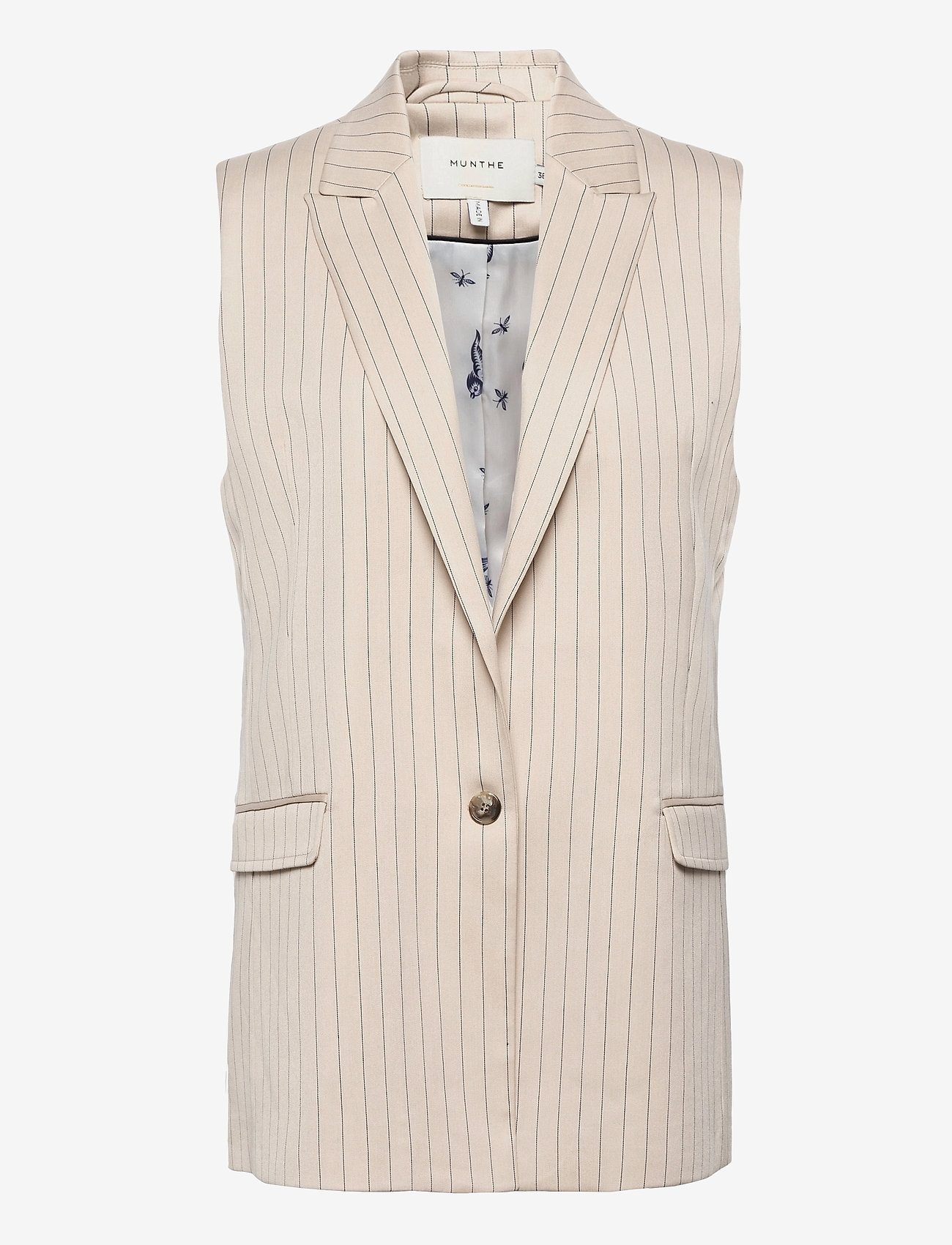 Munthe - TOADA - knitted vests - ivory - 0