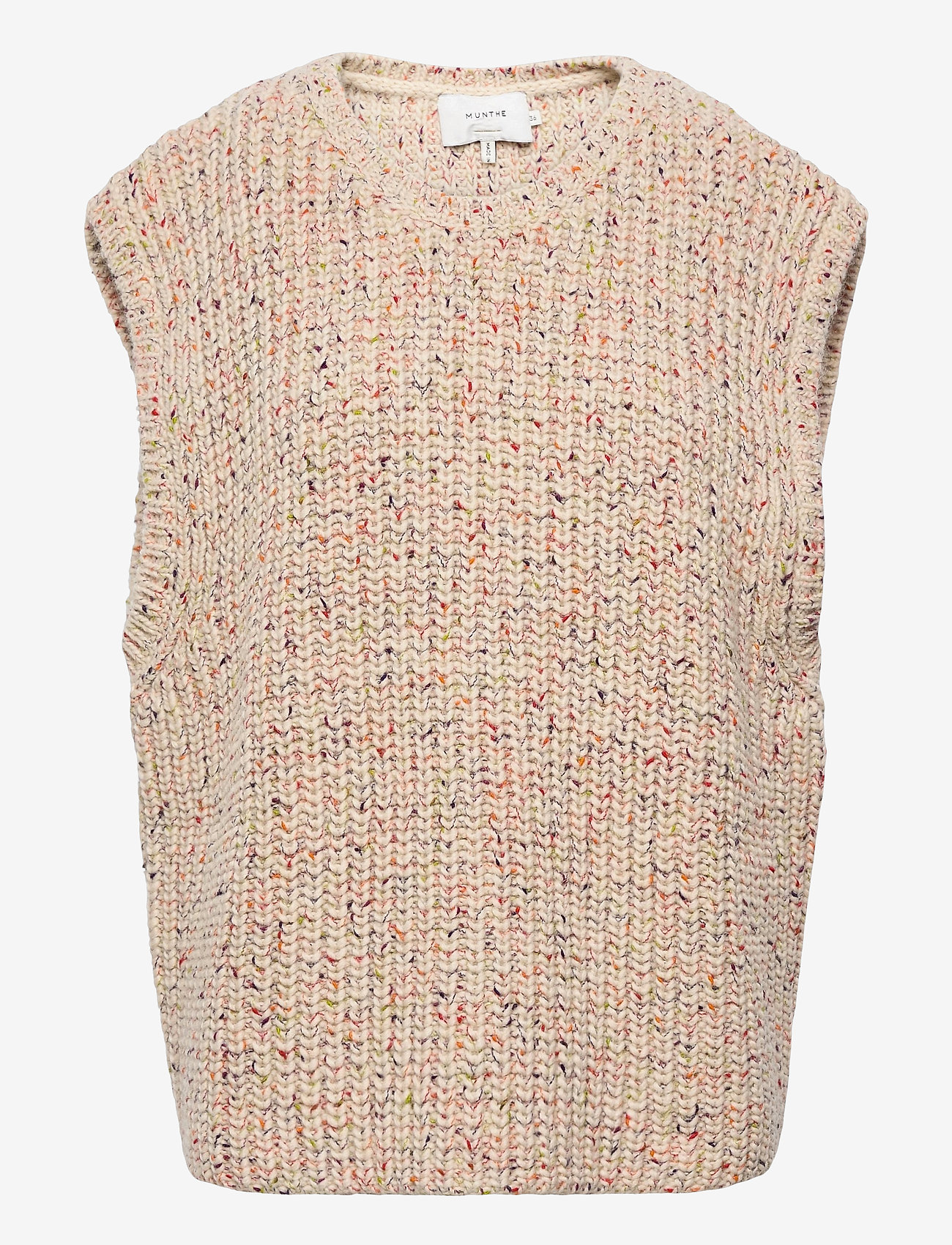 Munthe - TOUCH - knitted vests - nature - 0