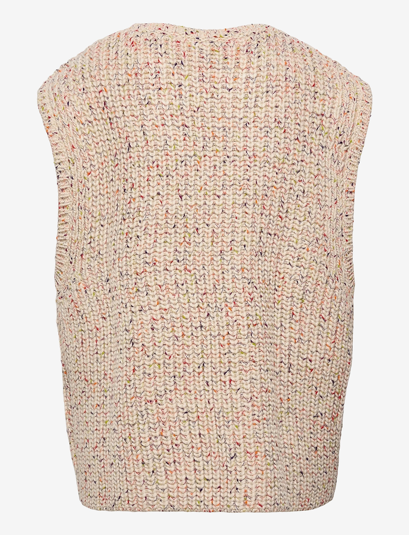 Munthe - TOUCH - knitted vests - nature - 1