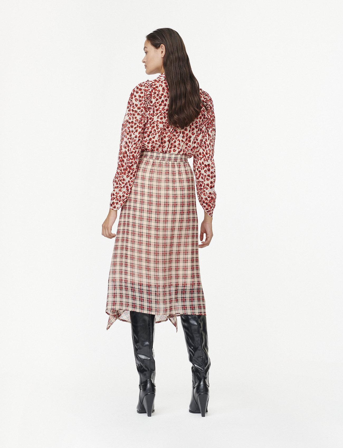 Munthe Joan - Spódnice BEIGE - Kobiety Odzież.