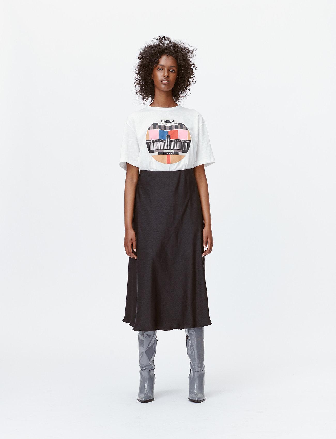 Munthe - LAVENDER - t-shirts - white - 0