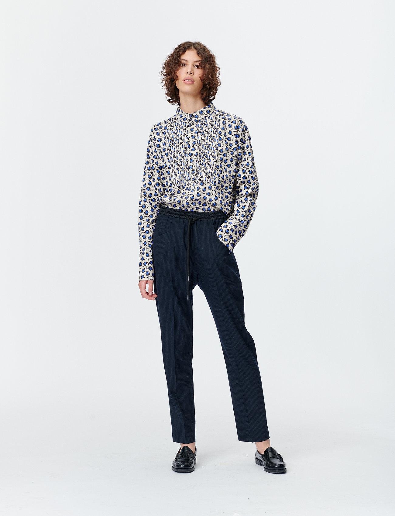 Munthe - SONNA - blouses à manches longues - indigo - 0