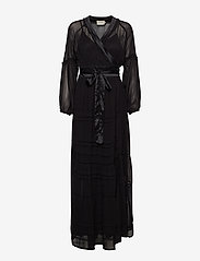 Munthe - TERRY - robes portefeuille - black - 0
