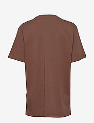 Munthe - MIDDLE - t-shirts - brown - 2