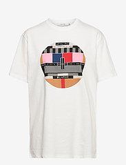 Munthe - LAVENDER - t-shirts - white - 1