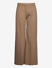 Munthe - SAKURAI - pantalons larges - camel - 2