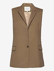 Munthe - SIBI - blazers sans manches - camel - 1