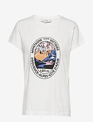Munthe - YLVA - t-shirts - white - 0