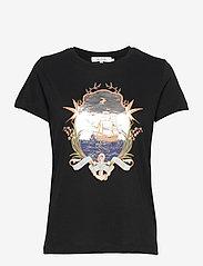 Munthe - TREK - t-shirt & tops - black - 1