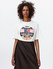 Munthe - LAVENDER - t-shirts - white - 3