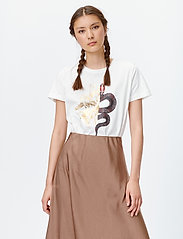Munthe - LACE - t-shirts - white - 0