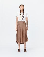 Munthe - LACE - t-shirts - white - 3