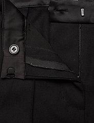 Munthe - LEAF - bukser med brede ben - black - 7