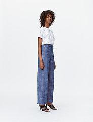 Munthe - LUBIANA - broeken met wijde pijpen - indigo - 4