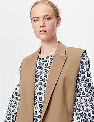 Munthe - SIBI - blazers sans manches - camel - 0