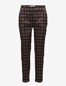 PETAL - trousers with skinny legs - beige