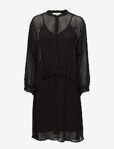 VESSEL - robes courtes - black
