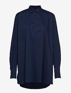 Harlow - chemises à manches longues - indigo