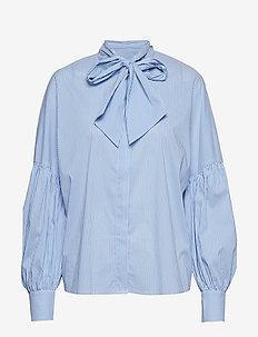 Hotel - chemises à manches longues - blue