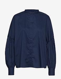 Hotel - chemises à manches longues - indigo