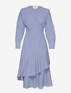 Harper - slå-om-kjoler - blue