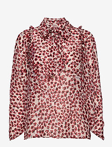 Jadyn - long sleeved blouses - red