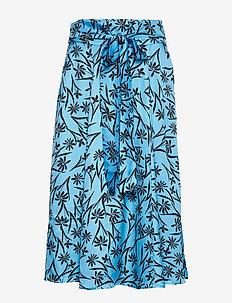 Judy - midi skirts - turquoise