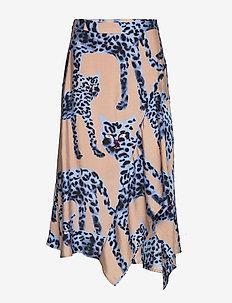 Jeez - midi skirts - blue