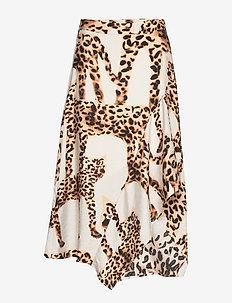Jeez - midi skirts - camel