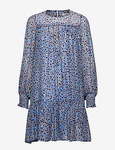 Joelle - korte kjoler - turquoise