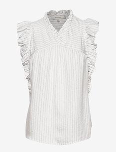 Ervin - blouses sans manches - ivory