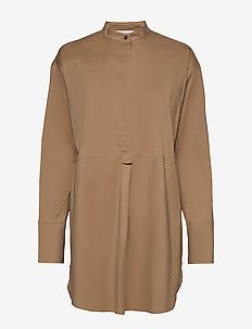 Elmer - long sleeved blouses - camel