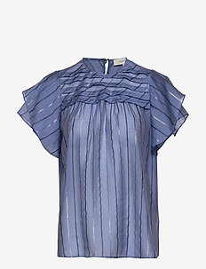 Ellington - short-sleeved blouses - indigo