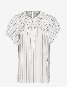 Ellington - short-sleeved blouses - white