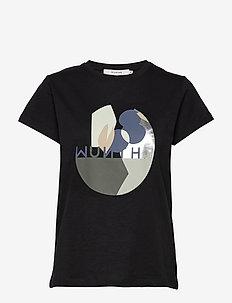 Elena - bedrukte t-shirts - black
