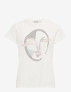 Elisa - printed t-shirts - white