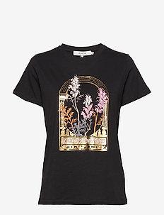 Elliot - bedrukte t-shirts - black